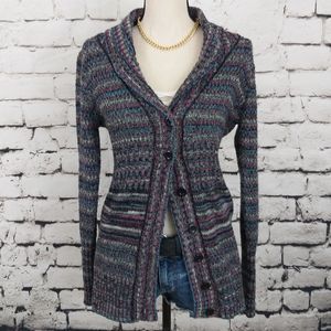 Wet Seal Knit Sweater Cardigan S